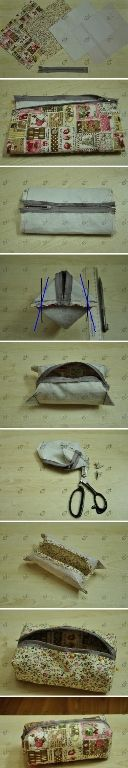 Cosmetic bags also can, pencil case, purse can. Best sewing machine operation, more solid, hand-stitched, then reinforcement