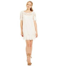11f729441e1 Antonio Melani Veronique Ornate Lace Dress  Dillards