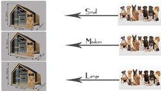 Modern Dog Houses, Wooden Dog House, Dog Furniture, Dog Crate, Animal House, Black Wood, Dog Bed, House Colors, Natural Wood