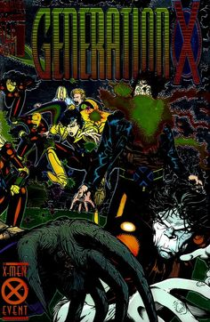 Generation X #1 - 75 + Annuals + Extras Free Download – GetComics