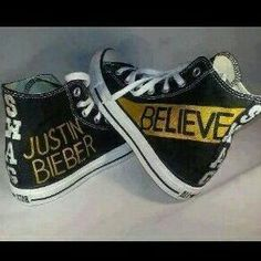 Justin Bieber - Believe Converse Justin Bieber Shoes, Justin Bieber Believe, Justin Bieber Outfits, Justin Bieber Style, Justin Bieber Pictures, Babe, Slip On Sneakers, To My Future Husband, Swagg