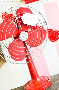 No. 1 Fan  Valentine's party kissing booth via Kara's Party Ideas karaspartyideas.com-239