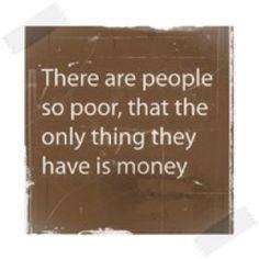 the love of money...