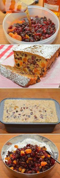 EL BIZCOCHO CON PASAS NAVIDEÑO INGLÉS! #receta #recipe #casero #torta #tartas #pastel #nestlecocina #bizcocho #bizcochuelo #tasty #cocina #cheescake #helados #gelatina #gelato #flan #budin #pudin #flanes #pan #masa #panfrances #panes #panettone #pantone #panetone #navidad #chocolate Si te gusta dinos HOLA y dale a Me Gusta MIREN... Mexican Food Recipes, Sweet Recipes, Dessert Recipes, Cake Recipes, Delicious Desserts, Yummy Food, Plum Cake, Pan Dulce, Just Cakes