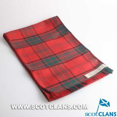 Clan Maxwell Tartan Scarf: