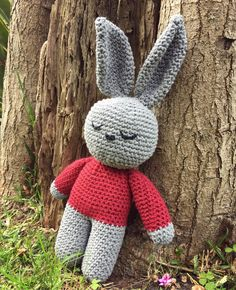 "20 Likes, 1 Comments - Tutyfruti (@tutifruti_style) on Instagram: ""Hugo rabbit 😍 #crochet #amigurumi #rabbit #babyroom #kidsroom #kidstoys #craft #handmade…"""