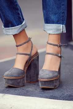 FP Collection Twin Sundown Platform at Free People Clothing Boutique Visit: http://www.braceletstyle.com