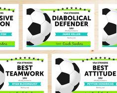 Soccer Award Categories-Cute + Useful