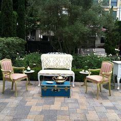 Butterfly Garden Themed Wedding at Vibiana Los Angeles. Vintage Rentals by Circa Vintage {Rentals} L.A.
