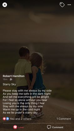 Everything Will Be Alright, My Everything, Keep Me Safe, Feeling Alone, If I Stay, My Side, Dark Night, Losing You