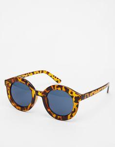 Image 1 ofASOS Round Sunglasses