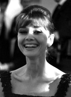 The radiant Audrey Hepburn at the Rome, Italy premiere of Breakfast At Tiffany's 17th November 1961.