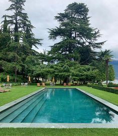 """Luxury Custom Home Builder on Instagram: """"Grounds at the Villa Feltrenelli Via @juliananuladesign . What kind of pool type are you? Simple or over the top? I can make a case for…"""""""