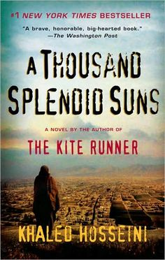 """Written by the author of """"The Kite Runner"""" this book is also set in Afghanistan. The area is still being torn apart in war, but they also have to face the strict, brutal practices of the Taliban. This story deals with two Afghani women who are no more than slaves to their shared Muslim husband. He is a cruel, cold man who sees beating his wife as a man's rightful due. Fortunately, the two women have one another to provide a little hope, but unfortunately, what their husband does to them is…"""