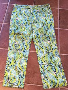 5eaa35f18e0089 VINTAGE LILLY PULITZER MEN'S STUFF PANTS TROUSERS 40 INCH WAIST FISH   eBay