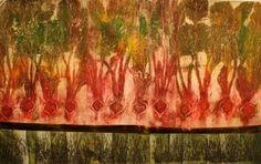 Living and Dyeing Under the Big Sky: Gelatin Plate Prints Gelli Arts, Big Sky, Gelatin, Various Artists, Mixed Media Art, Wall Design, Printmaking, Prints, Painting
