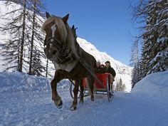 Dashing Through The Snow, In A One Horse Open Sleigh.