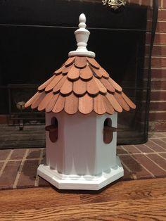 Octagon bird houses, Such beauty