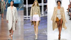 The best trench coats for spring and how to wear them including classics from Burberry and sleeveless versions from Band of Outsiders. As seen on celebrities from Sienna Miller to Victoria Beckham and Jackie O. Trench Coat Style, Classic Trench Coat, Khaki Coat, Fashion Articles, Diane Von Furstenberg, Victoria Beckham, Coat Styles, Womens Fashion, Fashion Trends
