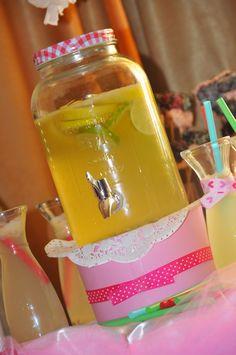 lemon juice#bridal shower