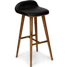 retro wood barstools