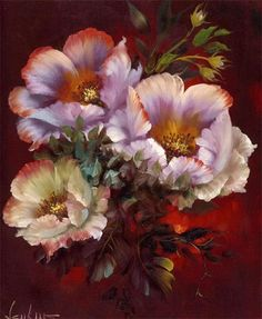 Gary Jenkins Artist | gary jenkins american floral painter born in brooklyn new york gary ...