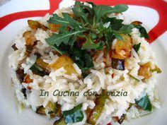 riso basmati zucchine e rucola Grains, Food, Diet, Essen, Meals, Seeds, Yemek, Eten, Korn