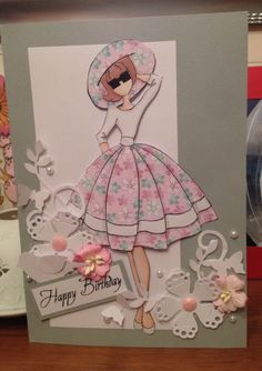 Audrey paper doll