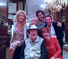 Janeen Damian, writer/producer of High Strung, enjoyed some time with family members while in Europe.