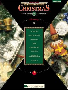 The Ultimate Series: Christmas: 100 Seasonal Favorites (Ultimate (Hal Leonard Books)). (Piano/Vocal/Guitar Songbook). The ultimate collection of Christmas classics just got better with this third edition that includes even more of your favorites! 100 songs: Auld Lang Syne * Bring a Torch, Jeanette, Isabella * Carol of the Bells * The Chipmunk Song * Christmas Time Is Here * The Christmas Waltz * Do You Hear What I Hear * The First Noel * Gesu Bambino * Happy Holiday * Happy Xmas (War Is…