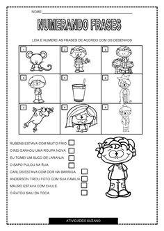 Numerando frases é uma atividade complementar para reforçar o trabalho com frases em sala de aula, deixo aqui mais uma opção p...