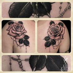 kid kros roses tattoo