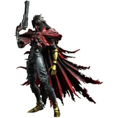 New Final Fantasy VII Play Arts Kai Vincent Valentine Now Available