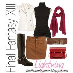 """Final Fantasy XIII--Lightning"" by fashionablegamer on Polyvore"