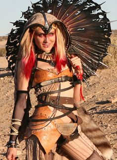 Erin Layne | Post-Apocalyptic Golden Hour! #wastelandweekend — at Wasteland Weekend 2013