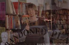 Abandoned Planet Bookstore In Movie Just Like Heaven    Pinned 8-26-2015.