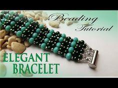 ELEGANT PEARL BRACELET - BEADING TUTORIAL - YouTube