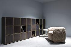 Milan Design Week 2016. 40/40 Element and Drapé Lounge Armchair by Bartoli Design | Laurameroni