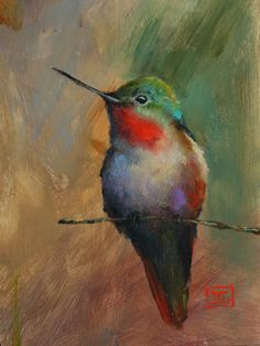KOI Watercolor Print, Fish Painting by Dean Crouser Bird Painting Acrylic, Hummingbird Painting, Watercolor Bird, Watercolor Paintings, Original Paintings, Acrilic Paintings, Bird Prints, Illustrations, Bird Art