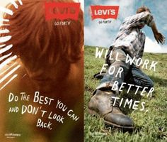 Levi's Go Forth Campaign, Wieden + Kennedy