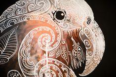 """New works by Sofia Minson at """"A bird on the wall"""" in Christchurch Abstract Sculpture, Sculpture Art, Metal Sculptures, Bronze Sculpture, Maori Designs, Tiki Art, New Zealand Art, Nz Art, Maori Art"""