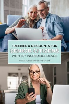 If you're 55 or older, make sure you're not leaving money on the table. We've compiled a MASSIVE list of free stuff for senior citizens! You deserve it, so go ahead and treat yourself! You Deserve It, Go Ahead, Treat Yourself, The Incredibles, Free