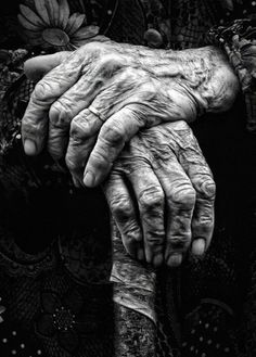 Hands tell the story of our lives. The work, the play, and the life people have lived.