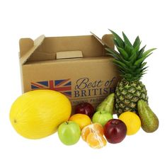 #Smoothie #FruitBox All you need for a #refreshing smoothie,#Pineapple x 1,Yellow #Melon x 1,#RedApples x 2,Green Apples x 2,#Pears x 2,Satsuma x 2,Fruit Box may vary slightly due to seasons and availability,Next Day Delivery on orders placed before 1pm Monday to Friday.