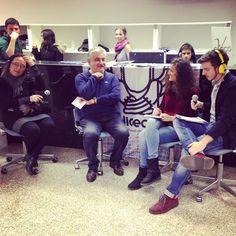 """Presentazione del libro """"FORMAT"""" dello scrittore fiorentino Fabrizio de Sanctis su RadioEco, al PisaBookFestival2014 #Format #pisa #pisabookfestival14 #libro  #radio"""