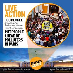 I'm so inspired by the 350.org #PeoplesParliament action today. Send a message of support: peoplesparliament.com.au  #PeoplesClimate #ClimateMarch #ActOnClimate #COP21 #Paris #ClimateChange #Climate #GlobalWarming by jarrennylund