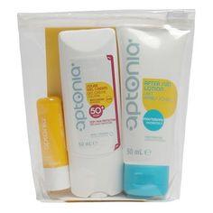 KIT CREMA IP50+LÁPIZ DE LABIOS DECATHLON - Protección para la piel. Protección en la playa en este práctico bolso.