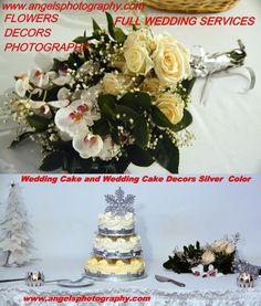 Budget Wedding, Ottawa, Silver Color, Cake Decorating, Wedding Cakes, Wedding Photography, Table Decorations, Weddings, Flowers