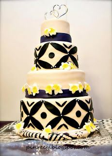 Cheesecake Wedding Cake Oahu