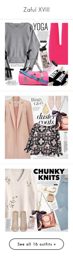 """Zaful XVIII"" by vanjazivadinovic ❤ liked on Polyvore featuring zaful, Beyond Yoga, Whiteley, ban.do, Superdry, polyvoreeditorial, whitesneakers, Tiffany & Co., Miss Selfridge and Hueb"